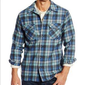 Pendleton Beach Boys flannel board shirt XL long
